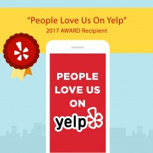 Yelp Special Recognition